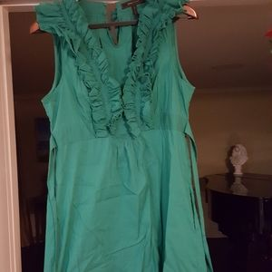 BCBG max azria green dress